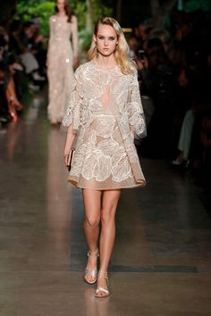 ELIE SAAB HAUTE COUTURE SPRING SUMMER 2015 FASHION SHOW – GeorgiaPapadon