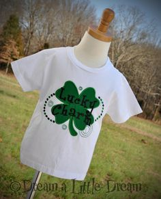 St Patty's Day Lucky Charm BOYS OR GIRLS by dreamalittledream10, $20.00