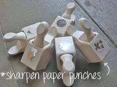 Nothing is worse than a dull 16.00 punch! Learn how to sharpen paper punches.