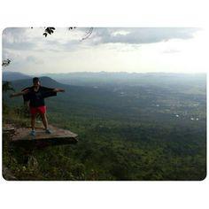 cliff | me  > Pha Hum Hod, Chaiyaphum Province, Thailand : November 2013 <