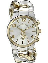 U.S. Polo Assn. Women's USC40173 Analog Display Two-Tone Watch by U.S. Polo Assn. $19.99Prime FREE Shipping on eligible orders See Details Show only U.S. Polo Assn. items 3.8 out of 5 stars 26