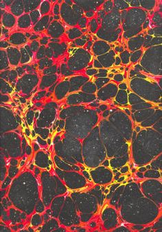 New from Volcano Arts | Marbled Paper from Galen Berry - They go fast!
