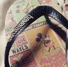 Disney fan? These Havaiana flip flops are for you then. @georgiabluden