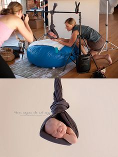 I don't think people understand how difficult newborn photography really is. Study it & you'll learn the proper way to photograph a newborn.