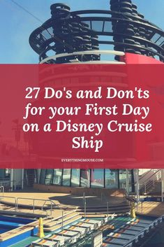 Disney Cruise Tips from the experts. What to do and what not to do on your first day onboard a Disney cruise ship. Embarkation tips for Disney Cruise Ships Cruise One, Family Cruise, Alaska Cruise, Cruise Tips, Cruise Vacation, Disney Vacations, Vacation Ideas, Cruise Travel, Disney Travel