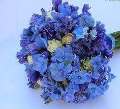 Modrá svatební kytice, prosím poraďte :). - - Kyt... - str. 2