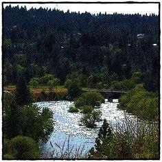 Spokane River view