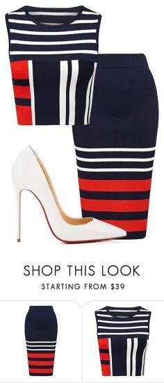 """""""Untitled #318"""" by synthiabrown on Polyvore featuring Christian Louboutin"""