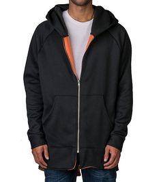 EPTM+1960+Jedi+fleece+hooded+jacket+Long+sleeves+Adjustable+drawcord+on+hood+Full+zip+up+closure+Front+pockets+detail+Jedi+style+bottom+hem+Super+soft+inner+fleece+lining+for+ultimate+comfort+and+performance