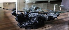 Bog Oak Coffee Table - a wow statement for your living room