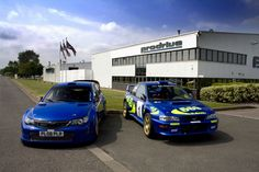 Subaru Impreza WRC 1997 and 2008