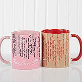 Create a professional executive gift with the Personalized Coffee Mugs - My Name - Signature Style. Find the best personalized office gifts at PersonalizationMall.com