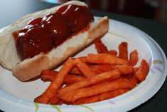 Barbecue meatball subs Great Recipes, Favorite Recipes, Bbq Meatballs, Meatball Subs, Good Food, Yummy Food, Soup And Sandwich, Recipe For Mom, Dinner Menu