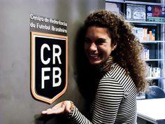 A varzeana Aira Bonfim convida todos a visitarem o CRFB. Foto: Enrico Spaggiari