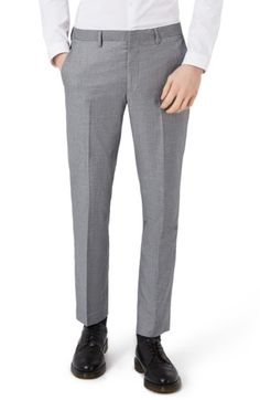 TOPMAN MEN'S TOPMAN SKINNY FIT SUIT TROUSERS. #topman #cloth #