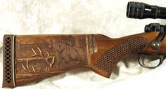 Gun Engraving Patterns | Rich Legarra - Gun Stock Carving - Power Carving | Wood Carving | High ...
