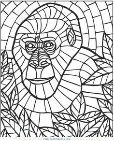 Chinese Kites Stained Glass Coloring Book Dover