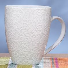 This is beautiful. I would drink tea out of this all the time...