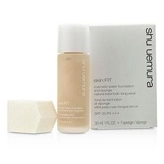 Skin:Fit Cosmetic Water Foundation and Sponge SPF30 - #584 Fair Sand - 30ml-1oz