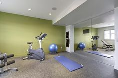 127 Park Valley - contemporary - home gym - other metro - Gino's Homes