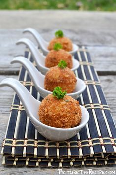 Tuna Potato Croquettes. #fingerfood #louçasfingerfood