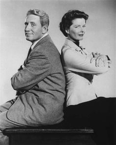 Romance movies for grownups:     Adam's Rib ﴾1949﴿:   An American film written by Ruth Gordon and Garson Kanin and directed by George Cukor. It stars Spencer Tracy and Katharine Hepburn as married lawyers who come to oppose each other in court. Judy Holliday co‐stars as the third lead in her second credited movie role.