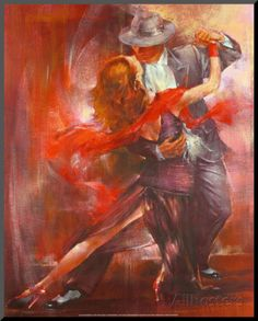 Tango Argentino II Mounted Print by Pedro Alvarez at AllPosters.com