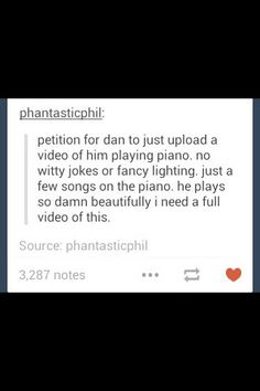 YES YES YES A MILLION TIMES YES I NEED THAT and what's sad is that he thinks he's no good at the piano MY HEART