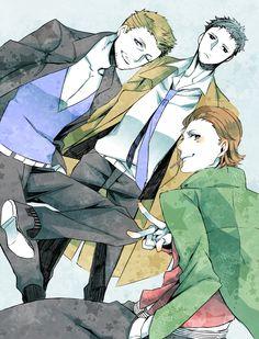 Balthazar, Gabriel and Castiel