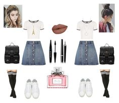"""""""Twins #2"""" by robertipox on Polyvore featuring moda, Anita & Green, Topshop, Yves Saint Laurent, Sole Society, Botkier, MAKE UP FOR EVER, Chanel e Christian Dior"""