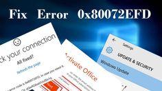 Fix Error 0x80072EFD by Following a Few Steps