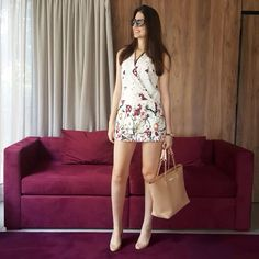 @lookbyus look trabalho do dia work outfit style fashion roupa moda tips verão summer jumpsuit macaquinho macacao