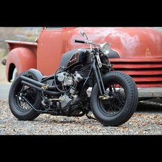 Knucklehead | Bobber Inspiration - Bobbers and Custom Motorcycles September 2014