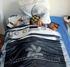 Draps et coussins de lits insolites