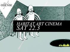Art Cinema. Gratis kunstvideomarathon - med popcorn.  #HABITAT #odense #artcinema Mere end 25 kunstnere viser deres videoværker. #Lahnsgade48 #kunsthabitat #faa #art #video #cinema #odense #mitodense #thisisodense Læs anbefalingen på: www.thisisodense.dk/8141/art-cinema
