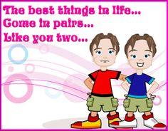 Happy Birthday To My Twin Sister Poem Wishesquotez