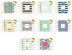 Whitney English 2015 Planners from Day Designer are here! Agenda Planner, 2015 Planner, Planner Journal, Whitney English, Planner Organization, Organizing Life, Paper Store, Day Designer, Day Planners