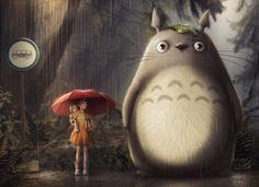Totoro by AllaD8.deviantart.com on @DeviantArt