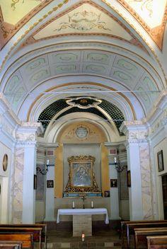 Chiesa della Madonna del Carmine interno #marcafermana #monsampietromorico #fermo #marche