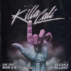 Killa Cali - Un Dio non c'è (prod. Aleaka/Allday) cover by Francesco ( ATTITUDE ) Terragin, via Behance