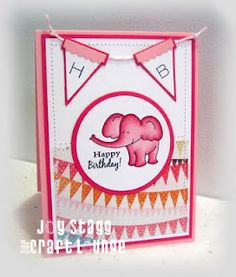 Made by Joy Stagg using OCL stamp set: Circus Circus