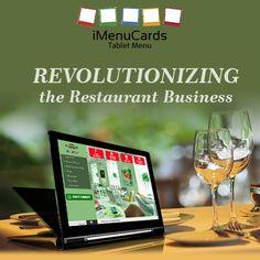 Are you still stuck on paper menu? Move on to digital menu now! Know more here: www.imenucards.com  #imenu #tabletmenu #digitalmenu #restaurant