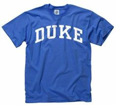 c2916fb2060 Duke Blue Devils Royal Arch T-Shirt by New Agenda.  12.99. Lightweight rib  · Football GearCollege ...