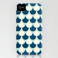 Scallop Pattern iPhone Case $35