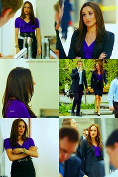 """"""" 005. OUTFITS OF RACHEL ZANE (played by Meghan Markle) on SUITS 1x02 - Errors and Omissions """""""