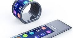 Fully Bendable Mobile Phone