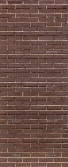 Brown Brick Wall. Brown Brick Walls. Uniform - Stone Textures