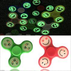 Cute-Emoji-Luminous-Hand-Spinner-Tri-Fidget-Focus-EDC-Fingertip-Toy-For-Kid-Gift