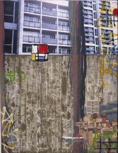 David Hepher Some High rises for the Peters Hair You Wear, Barbizon School, Urban Painting, Tower Block, Urban Nature, Space Architecture, Built Environment, Urban Landscape, Cool Artwork