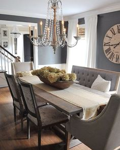 """/dearlillie/ on Instagram: """"One last angle of our dining room. Our #eclecticallyfall tour is up on the blog today! Tap for sources. Detailed source info can be found on our blog."""""""
